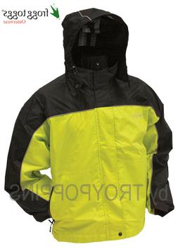 1-FROGG TOGGS RAIN GEAR-NTH65125 JACKET HIGHWAY TOADZ MOTORC