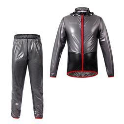 1 Set Waterproof Windproof <font><b>Rain</b></font> Suit Win