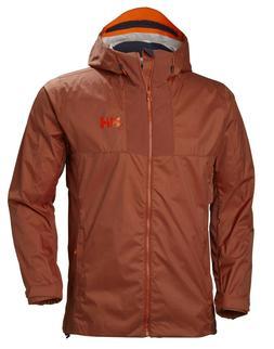 $160 New - Helly Hansen Men's Vanir Logr Jacket - Water/Rain