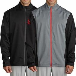 adidas Mens Golf Waterproof Climaproof Heathered Breathable