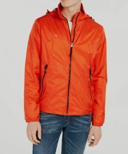 $325 Calvin Klein Men's Orange Ripstop Lightweight Packable