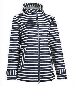 5990 Charles River Women's New Englander Printed Rain Jacket