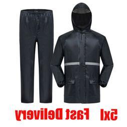 5XL Scruffs Rain Jacket Waterproof Trousers Jacket & Over Tr