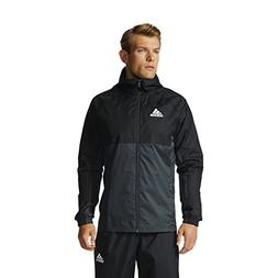 Adidas Tiro 17 Mens Soccer Rain Jacket M Black-Dark Grey-Whi