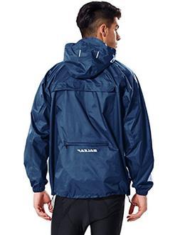 Baleaf Unisex Packable Outdoor Waterproof Rain Jacket Hooded