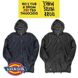DICKIES 33237 MEN'S WATERPROOF HOODED WINDBREAKER JACKET ACT