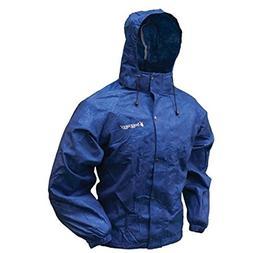 Frogg Toggs Women's All Purpose Rain Jacket, Royal Blue, Sma