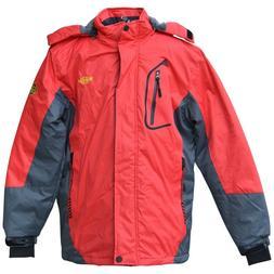 New Wantdo Women's Waterproof Winter Ski Rain Jacket with Ho