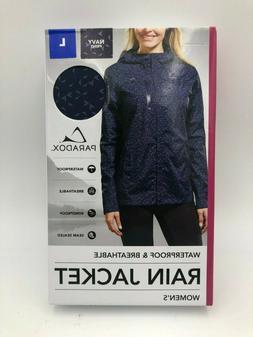 Paradox Women's Platinum Waterproof Rain Jacket,