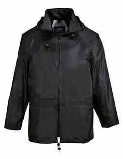 Portwest Classic Rain Jacket, Small to XXL, 3 colours - Blac