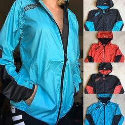 jacket cold gear loose lightweight windbreaker rain
