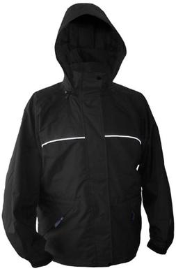 Viking Men's Torrent Waterproof Rain Jacket, Black, Small