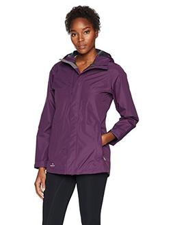 White Sierra Women's Sierra Guide 2.5 Layer Rain Jacket, Sha