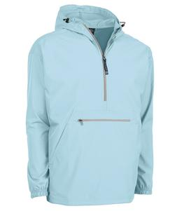A UNISEX NWT CHARLES RIVER PACK N GO PULLOVER RAIN JACKET
