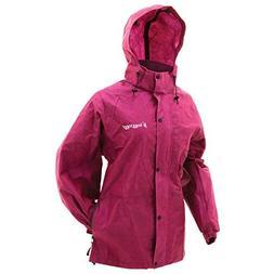 Frogg Toggs Pro Action Rain Jacket, Women's, Cherry, Size Me