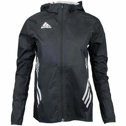 adidas Adizero Performance Rain Jacket  Black - Mens - Size