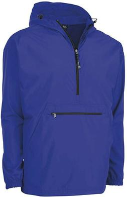 Adult Pack-N-Go Pullover Rain Jacket By Charles River Appare