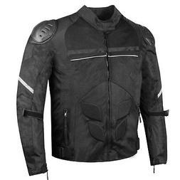 AirTrek Men Mesh Motorcycle Touring Waterproof Rain Armor Bi