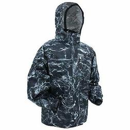 Frogg Toggs All Purpose Waterproof Rain Jacket, Men's, Black