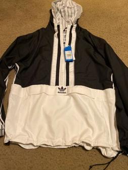 Adidas Anorak Jacket Hoodie Pullover Adidas Vintage Windbrea