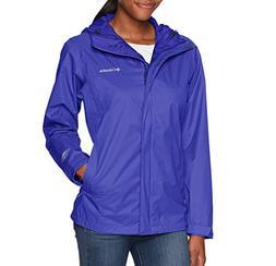 Columbia Arcadia II Rain Jacket Womens XS Hooded Rain Coat W