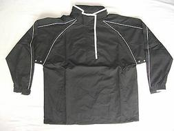 Proskins Black Rugby Football Hockey Shower / Rain Jackets u