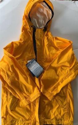 BNWT Rugged Bear Boys Sz 5  Navy Yellow Waterproof Rain Jack