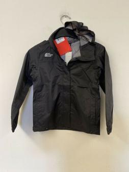 The North Face Boy's Zipline Rain Jacket - TNF Black - M