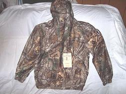 Boys 2X Rain Coat Non Insulated Rain Jacket Realtree Camo Ja