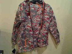 Nike Boys Air Jordan Lightweight Hooded Packable Rain Jacket