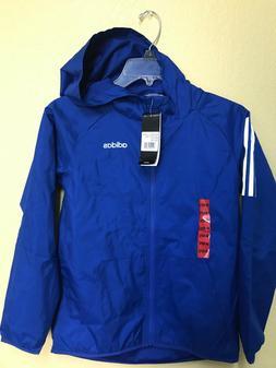 Boys Junior Lightweight ADIDAS Rain Jacket Waterproof Coat H