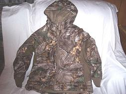 Boys Large Realtree Camo Jacket Insulated Hunting Jacket Rai