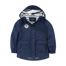 Boys' Lightweight Waterproof Slicker Rain Jacket Anorak Wind