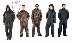 boys mens waterproof outfits suits camo navy green fishing r