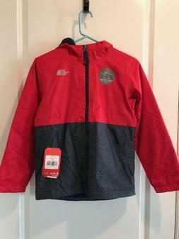 The North Face Boys Warm Storm Rain Jacket TNF RED NWT MSRP