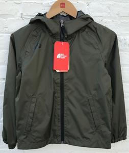 The North Face Boys Waterproof GREEN Rain Jacket $55 Size: X