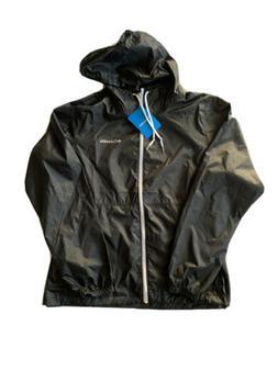 Columbia Center Ridge Womens Black Windbreaker Rain Jacket S