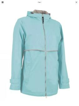 Charles River Apparel Women's New Waterproof Rain Jacket