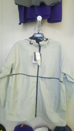Charles River Men's XL Rain Jacket Taupe Color St#u39