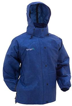Frogg Toggs Pro Action Rain Jacket, Women's, Royal Blue, Siz