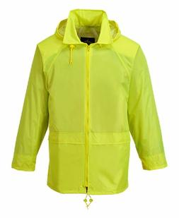 PORTWEST CLASSIC RAIN JACKET WATERPROOF DURABLE SEALED SEAMS