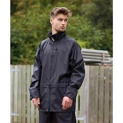 Portwest Classic Rains Jackets Waterproof Elasticated Drawco