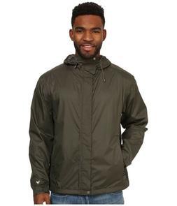 White Sierra Cloudburst Trabagon Men's Rain Jacket Dark Gr