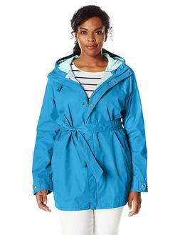 Columbia Women'S Plus-Size Pardon My Trench Rain Jacket