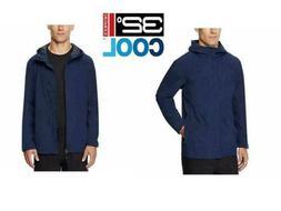 32 Degrees Cool Mens Waterproof Performance Rain Jacket Navy