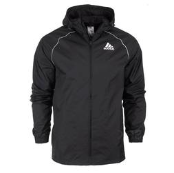 Adidas Core18 Rain Jacket Coat Hood Waterproof  Sport Footba
