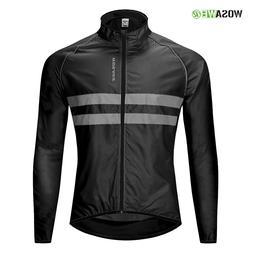 WOSAWE Cycling <font><b>Jacket</b></font> High Visibility Mu