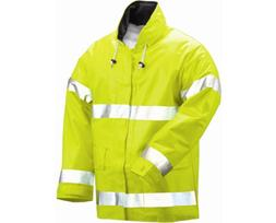 Tingley Electra Hi Vis Rain Jacket Lightweight Flame Resist