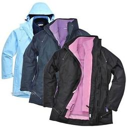 elgin ladies jacket rain coat rain waterproof
