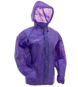 Frogg Toggs Emergency Jacket, Women's, Purple, Size Small/Me